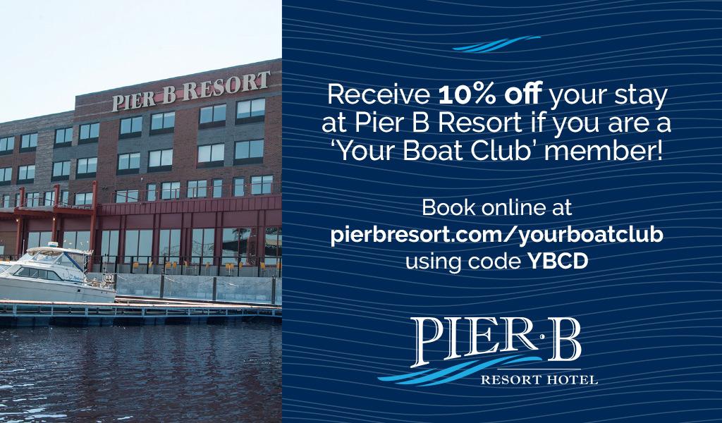 Pier b resort coupons